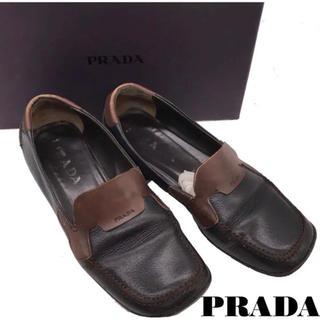プラダ(PRADA)のPRADA レザーシューズ(ローファー/革靴)