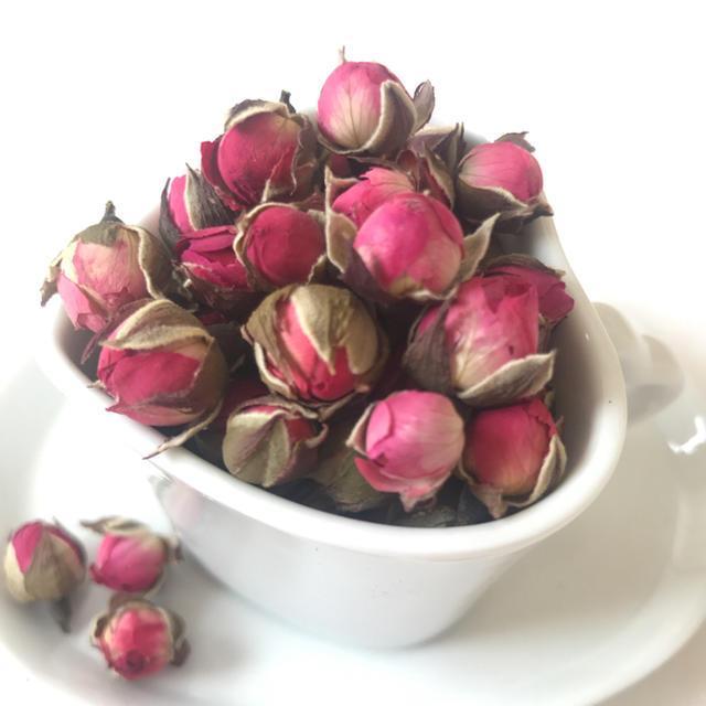 ミニ薔薇*ドライフラワー*大地農園*30個 ハンドメイドのフラワー/ガーデン(ドライフラワー)の商品写真