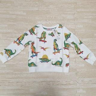 キャスキッドソン(Cath Kidston)のキャスキッドソン 恐竜 トレーナー 2-3歳(Tシャツ/カットソー)
