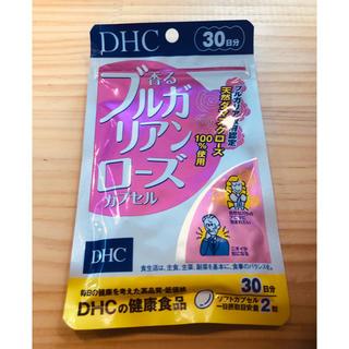 ディーエイチシー(DHC)の香るブルガリアンローズカプセル 3点(口臭防止/エチケット用品)