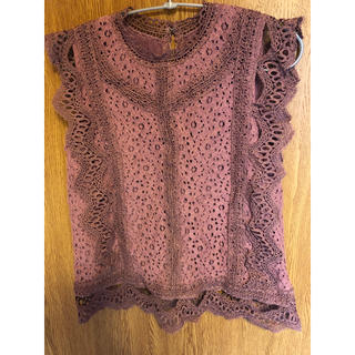 ナチュラルクチュール(natural couture)のNatural couture ノースリーブブラウス(シャツ/ブラウス(半袖/袖なし))