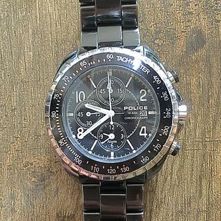 ポリス(POLICE)のPOLICE ALARM chronograph 腕時計(腕時計(アナログ))