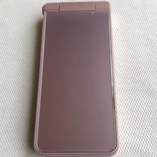 アクオス(AQUOS)の601SH AQUOS ケータイ2 ピンク(携帯電話本体)