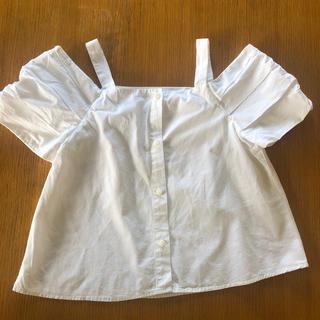 ザラ(ZARA)のZARA girl デザインシャツ 9  130(Tシャツ/カットソー)