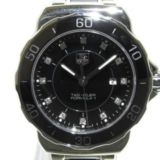 タグホイヤー(TAG Heuer)のタグホイヤー 腕時計美品  WAH1314 黒(腕時計)