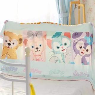 ディズニー(Disney)のダッフィー フレンズ ブランケット ひざ掛け 毛布 おくるみ ディズニー(毛布)