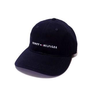 トミーヒルフィガー(TOMMY HILFIGER)のトミーヒルフィガー ロゴ刺繍キャップ(大人用)(141)(キャップ)