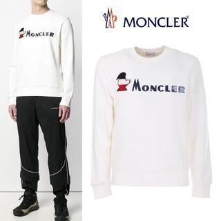 モンクレール(MONCLER)の8 MONCLER オフホワイト トレーナー size S(スウェット)