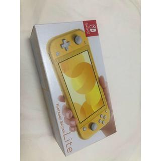 ニンテンドースイッチ(Nintendo Switch)の【新品・未使用】Nintendo Switch Lite イエロー(家庭用ゲーム機本体)