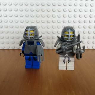 レゴ(Lego)のレゴ ニンジャゴー ミニフィグ ニンジャ2体、ゼン、ジェイ(キャラクターグッズ)