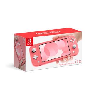ニンテンドースイッチ(Nintendo Switch)のNintendo Switch Lite(コーラル)(携帯用ゲーム機本体)