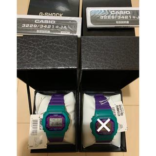 値下交渉可 dw 5600 G-SHOCK レトロ 新品 緑 紫 レア 終売品(腕時計(デジタル))
