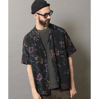 ビューティアンドユースユナイテッドアローズ(BEAUTY&YOUTH UNITED ARROWS)のダークアロハ オープンカラーシャツ XL(シャツ)