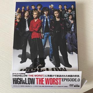エグザイル トライブ(EXILE TRIBE)のHiGH&LOW THE WORST EPISODE.0 DVD(TVドラマ)