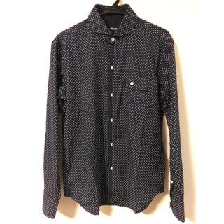 コムサイズム(COMME CA ISM)のCOMME CA ISM メンズシャツ 濃紺 美品(シャツ)