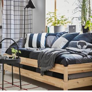 イケア(IKEA)のUTÅKER ウトーケル イケアのベッド(シングルベッド)