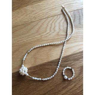 フレイアイディー(FRAY I.D)の真珠 ネックレスセット(ネックレス)