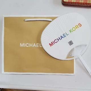 マイケルコース(Michael Kors)のマイケル・コース 袋&ミニ団扇(ショップ袋)