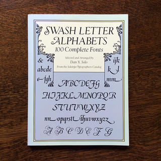Swash Letter Alphabets(洋書)