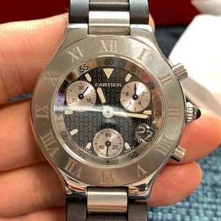 カルティエ(Cartier)の値下げ‼️早い者勝ち‼️急げ‼️カルティエ マスト21 (ラバーベルト)