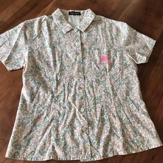 ディズニー(Disney)のディズニー ミニー コットンシャツ M(シャツ/ブラウス(半袖/袖なし))
