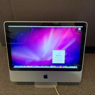 マック(Mac (Apple))のiMac20インチ a1224(デスクトップ型PC)