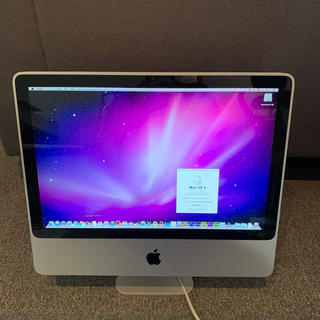 Mac (Apple) - iMac20インチ a1224