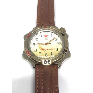 ロシア 腕時計 稼働品 動作確認済み(腕時計(アナログ))