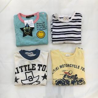 アーモンド(ALMOND)のGREEN LABEL、ALMOND BAR、90サイズまとめ売り(Tシャツ/カットソー)