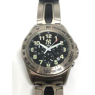 NEW YORK ニューヨークヤンキース 腕時計 稼働品 作動確認済み(腕時計(アナログ))