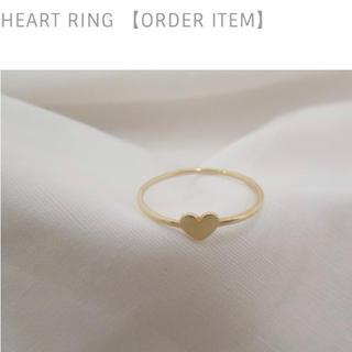 スピックアンドスパン(Spick and Span)の新品・未使用 松田未来さん愛用♡luijewelry  heart ring♡(リング(指輪))