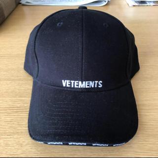 バレンシアガ(Balenciaga)の美品 vetements cap(キャップ)