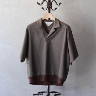 サンシー(SUNSEA)のSUNSEA 20SS SNM4 polo ポロシャツ(ポロシャツ)