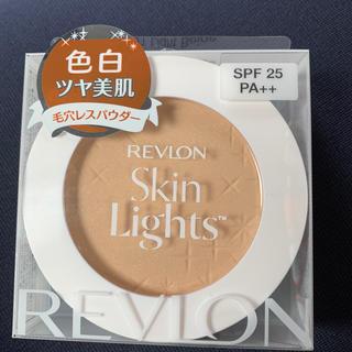 REVLON - レブロン スキンライト プレスト パウダー N 101 ライトベージュ(10g)