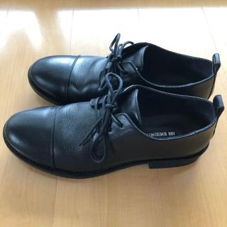 アンドゥムルメステール(Ann Demeulemeester)のann demeulemeester アンドゥムールムステール 革靴 42(ドレス/ビジネス)