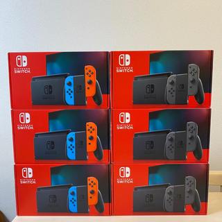ニンテンドースイッチ(Nintendo Switch)のニンテンドースイッチ ネオン グレー 6台セット(家庭用ゲーム機本体)