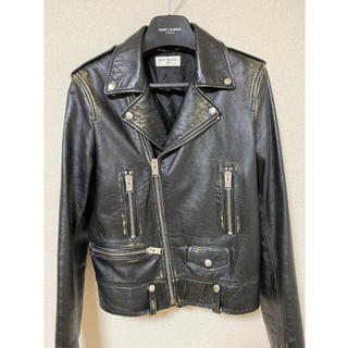 Saint Laurent - Saint Laurent leather jacket L01