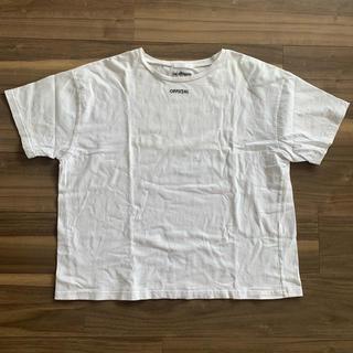 スピンズ(SPINNS)の白Tシャツ(Tシャツ/カットソー(半袖/袖なし))