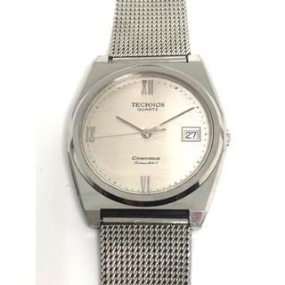 テクノス(TECHNOS)のテクノス TECHNOS  FOE0425 腕時計 作動確認済み(腕時計(アナログ))