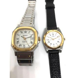 ティソ(TISSOT)のテクノス TECHNOS  と TISSOT 2本 腕時計 作動確認済み(腕時計)