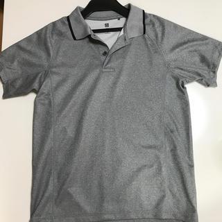ユニクロ(UNIQLO)の☆ユニクロ ポロシャツ グレー 150cm☆(その他)