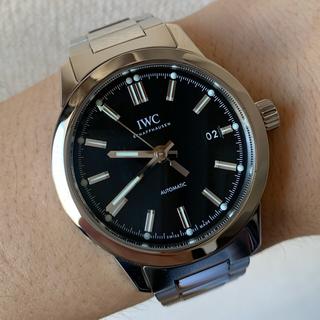 IWC - 美品 IWC インヂュニア IW357002 付属品完備 定価68.7万