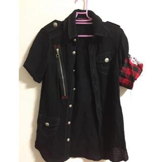 アルゴンキン(ALGONQUINS)のアルゴンキン腕章付きシャツ(シャツ/ブラウス(長袖/七分))