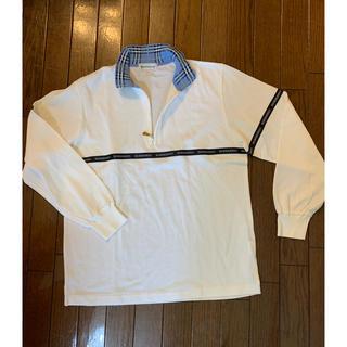 バーバリー(BURBERRY)の新品未使用 バーバリー トップス 長袖 ポロシャツ(ポロシャツ)