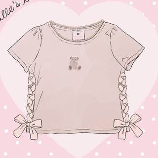 ロディスポット(LODISPOTTO)のミルフィーユクローゼット くまちゃんTシャツ(Tシャツ(半袖/袖なし))