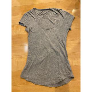 ラグナムーン(LagunaMoon)のラグナムーン グレー 半袖Tシャツ(Tシャツ(半袖/袖なし))
