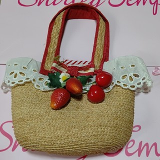 シャーリーテンプル(Shirley Temple)のイチゴとサクランボカゴバッグ(その他)