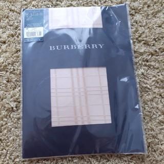 バーバリー(BURBERRY)のBURBERRY ストッキング シアーチェック(タイツ/ストッキング)