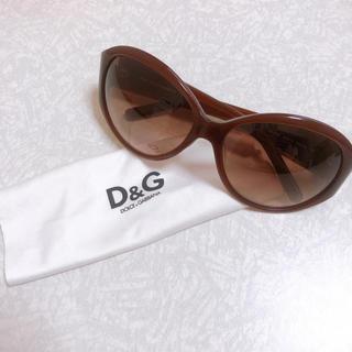 ディーアンドジー(D&G)の美品 サングラス ドルガバ レディース(サングラス/メガネ)