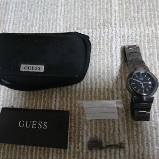 ゲス(GUESS)の値下げしました。  GUESS メンズ腕時計 美品(腕時計(アナログ))